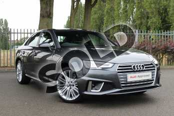 Audi A4 35 TDI S Line 4dr S Tronic in Daytona Grey Pearlescent at Coventry Audi