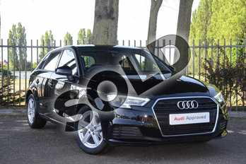 Audi A3 30 TFSI 116 SE Technik 5dr in Brilliant Black at Coventry Audi