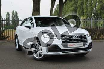 Audi Q2 35 TFSI S Line 5dr in Ibis White at Coventry Audi