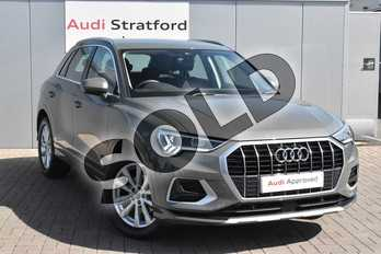 Audi Q3 35 TFSI Sport 5dr in Chronos Grey Metallic at Coventry Audi