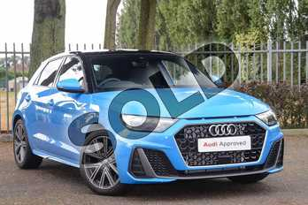 Audi A1 35 TFSI S Line 5dr S Tronic in Turbo Blue at Coventry Audi