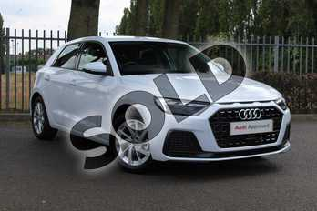 Audi A1 30 TFSI Sport 5dr S Tronic in Glacier White Metallic at Coventry Audi