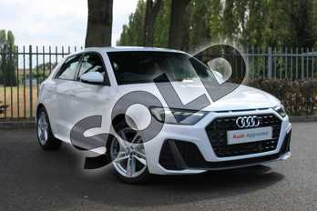 Audi A1 35 TFSI S Line 5dr in Shell White at Coventry Audi