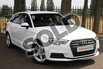 Audi A3 Diesel 30 TDI 116 SE Technik 5dr in Ibis White at Coventry Audi