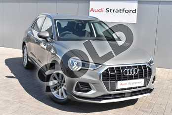 Audi Q3 Diesel 35 TDI Quattro Sport 5dr in Chronos Grey Metallic at Stratford Audi