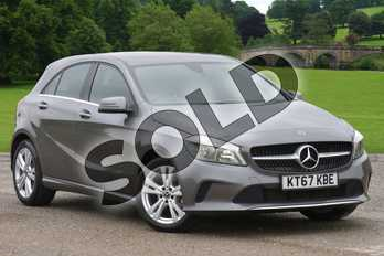Mercedes-Benz A Class Diesel A180d Sport 5dr Auto in Mountain Grey at Mercedes-Benz of Boston