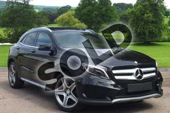 Mercedes-Benz GLA Class Diesel GLA 220d 4Matic AMG Line 5dr Auto in Cosmos Black Metallic at Mercedes-Benz of Grimsby