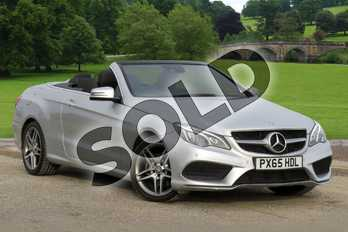 Mercedes-Benz E Class Diesel E220 BlueTEC AMG Line 2dr 7G-Tronic in Iridium Silver metallic at Mercedes-Benz of Hull