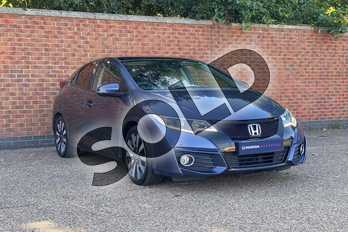 Honda Civic 1.8 i-VTEC SR 5dr Auto  in Blue at Listers Honda Northampton