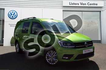 Volkswagen Caddy Maxi C20 Diesel 2.0 TDI 150PS Kombi Van DSG in Viper Green at Listers Volkswagen Van Centre Coventry