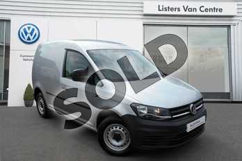 Volkswagen Caddy C20 Diesel 2.0 TDI BlueMotion Tech 102PS Startline Van in Reflex Silver at Listers Volkswagen Van Centre Coventry