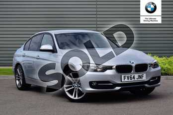 BMW 3 Series Diesel 318d Sport 4dr in Glacier Silver at Listers Boston (BMW)