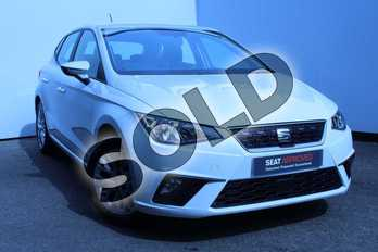 SEAT Ibiza 1.0 SE Technology (EZ) 5dr in White at Listers SEAT Worcester