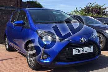 Toyota Yaris 1.5 VVT-i Icon 5dr in Nebula Blue at Listers Toyota Boston