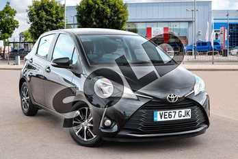 Toyota Yaris 1.5 VVT-i Icon Tech 5dr in Eclipse Black at Listers Toyota Cheltenham