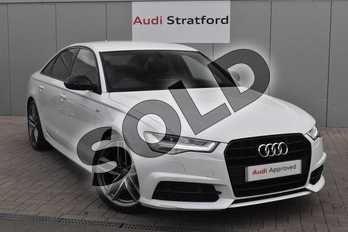 Audi A6 Special Editions 2.0 TDI Ultra Black Edition 4dr in Glacier White Metallic at Stratford Audi