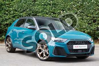 Audi A1 Special Editions 35 TFSI S Line Style Edition 5dr in Tioman Green at Worcester Audi