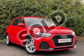 Audi A1 30 TFSI Sport 5dr in Misano Red Pearlescent at Worcester Audi