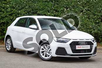 Audi A1 30 TFSI Sport 5dr S Tronic in Glacier White Metallic at Worcester Audi