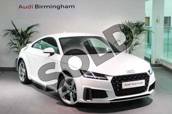 Audi TT 40 TFSI S Line 2dr S Tronic in Ibis White at Worcester Audi