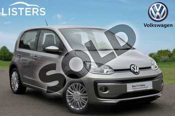 Volkswagen Up 1.0 Move Up 5dr in Tungsten Silver at Listers Volkswagen Coventry