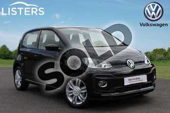 Volkswagen Up 1.0 90PS High Up 5dr (Start Stop) in Deep black at Listers Volkswagen Coventry