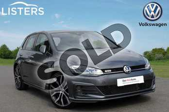 Volkswagen Golf Diesel 2.0 TDI 184 GTD 5dr DSG in Grey at Listers Volkswagen Coventry