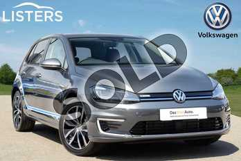 Volkswagen Golf 99kW e-Golf 35kWh 5dr Auto in Grey at Listers Volkswagen Coventry