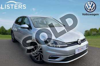 Volkswagen Golf 1.5 TSI EVO Match 5dr in Reflex Silver at Listers Volkswagen Leamington Spa