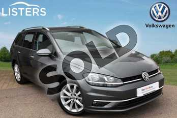Volkswagen Golf 1.5 TSI EVO 150 GT 5dr DSG in INDIUM GREY at Listers Volkswagen Loughborough