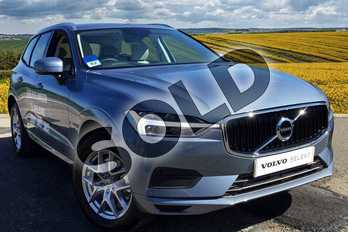 Volvo XC60 2.0 T5 (250) Momentum 5dr AWD Geartronic in 721 Mussel Blue at Listers Volvo Worcester