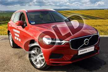 Volvo XC60 2.0 T5 (250) Momentum 5dr AWD Geartronic in 725 Fusion Red at Listers Volvo Worcester