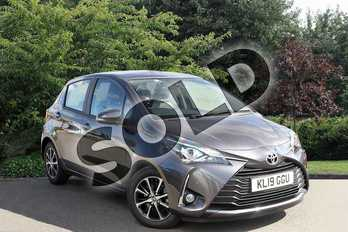 Toyota Yaris 1.5 VVT-i Icon Tech 5dr in Grey at Listers Toyota Nuneaton