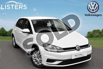 Volkswagen Golf 1.4 TSI S 5dr in Pure white at Listers Volkswagen Evesham