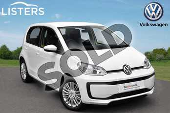 Volkswagen Up 1.0 Move Up 5dr in Candy White at Listers Volkswagen Evesham