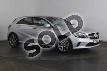 Mercedes-Benz A Class A180 Sport Edition 5dr Auto in Polar Silver at Mercedes-Benz of Grimsby