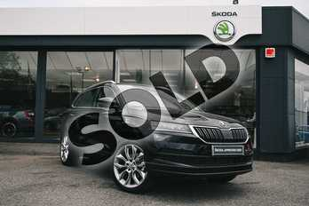 Skoda Karoq Diesel 2.0 TDI Edition 5dr in Black Magic Pearl Effect at Listers ŠKODA Coventry