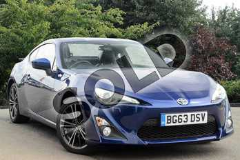 Toyota GT86 2.0 D-4S 2dr Auto in Blue at Listers Toyota Nuneaton