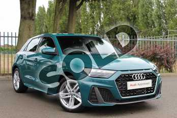 Audi A1 35 TFSI S Line 5dr S Tronic in Tioman Green at Coventry Audi
