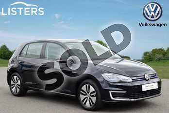 Volkswagen Golf 99kW e-Golf 35kWh 5dr Auto in Deep Black at Listers Volkswagen Stratford-upon-Avon