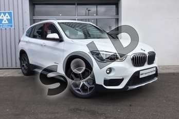 BMW X1 Diesel xDrive 25d xLine 5dr Step Auto in Alpine White at Listers King's Lynn (BMW)