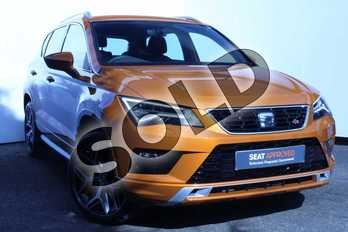 SEAT Ateca 1.5 TSI EVO FR Sport (EZ) 5dr DSG in Orange at Listers SEAT Worcester