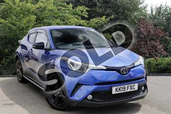 Toyota C-HR 1.2T Icon 5dr in Blue at Listers Toyota Nuneaton
