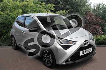 Toyota AYGO 1.0 VVT-i X-Trend 5dr in Silver at Listers Toyota Stratford-upon-Avon