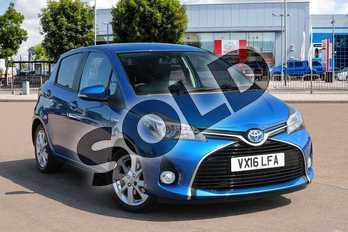 Toyota Yaris 1.5 Hybrid Excel 5dr CVT in Blue at Listers Toyota Cheltenham