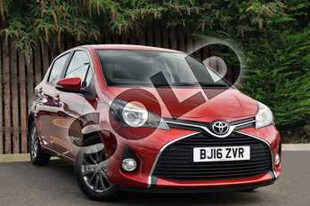 Toyota Yaris 1.33 VVT-i Icon 5dr in Red at Listers Toyota Coventry