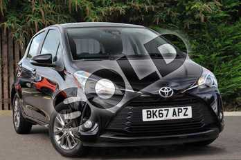 Toyota Yaris 1.5 VVT-i Icon Tech 5dr in Black at Listers Toyota Coventry