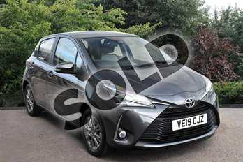 Toyota Yaris 1.5 VVT-i Icon 5dr in Grey at Listers Toyota Stratford-upon-Avon