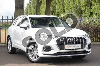 Audi Q3 Diesel 35 TDI Quattro Sport 5dr in Ibis White at Coventry Audi