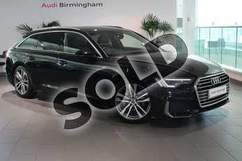 Audi A6 Diesel 40 TDI S Line 5dr S Tronic in Myth Black Metallic at Coventry Audi
